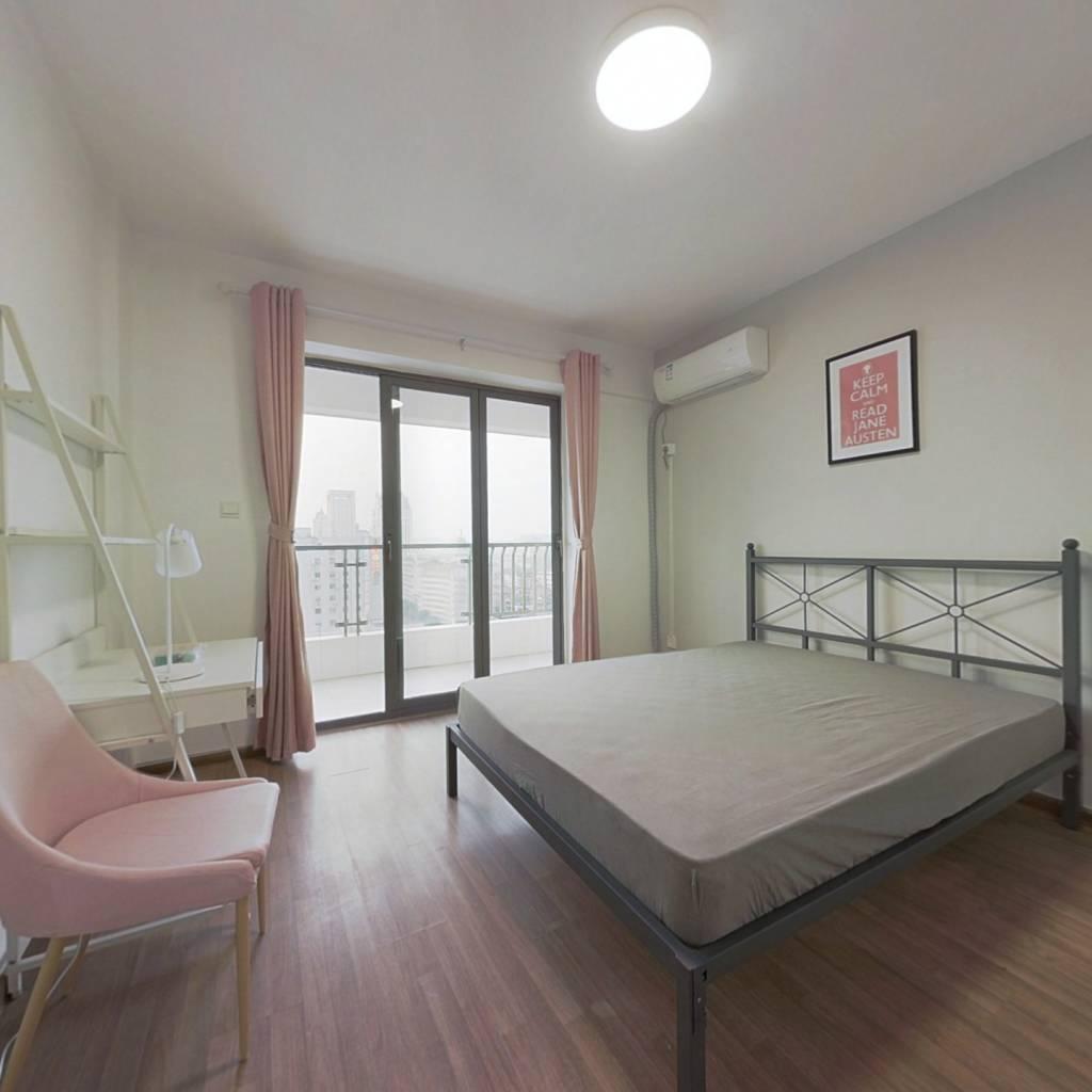 合租·锦天国际 3室1厅 西卧室图