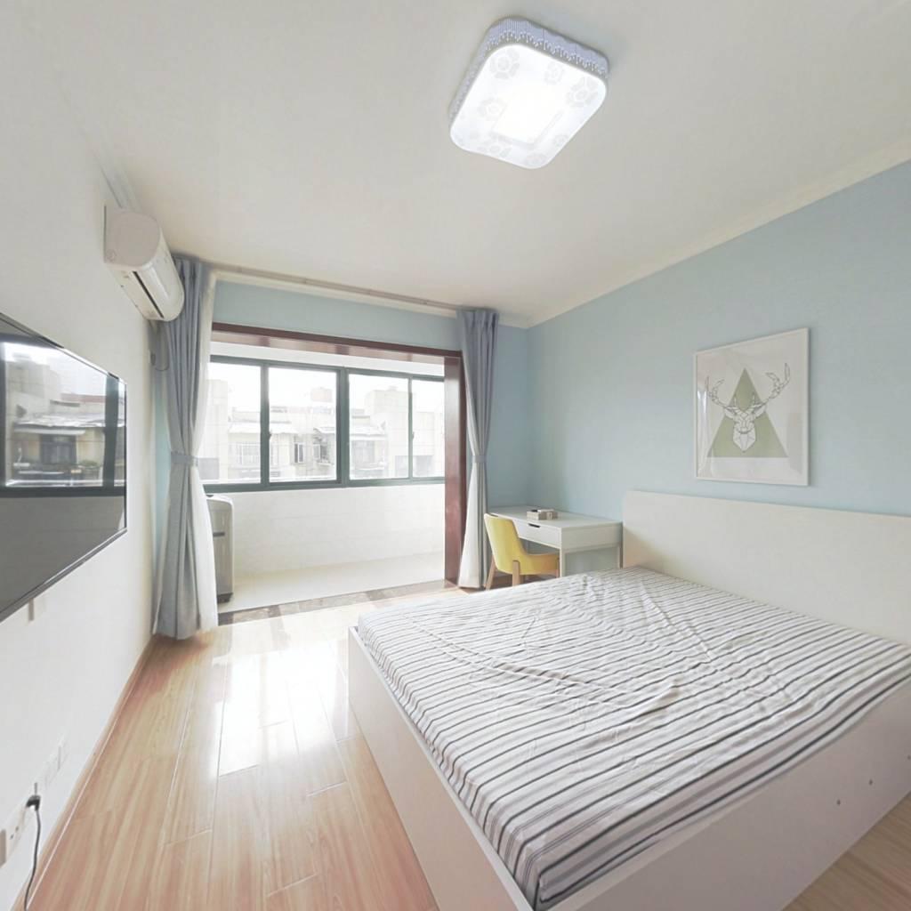 整租·一枝园小区 2室1厅 南北卧室图