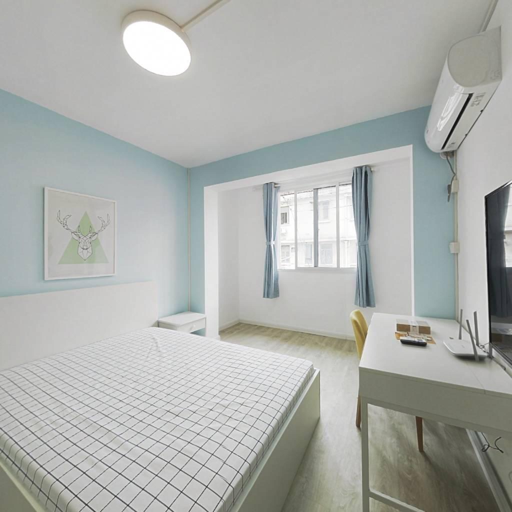 整租·梅园三村 1室1厅 南卧室图