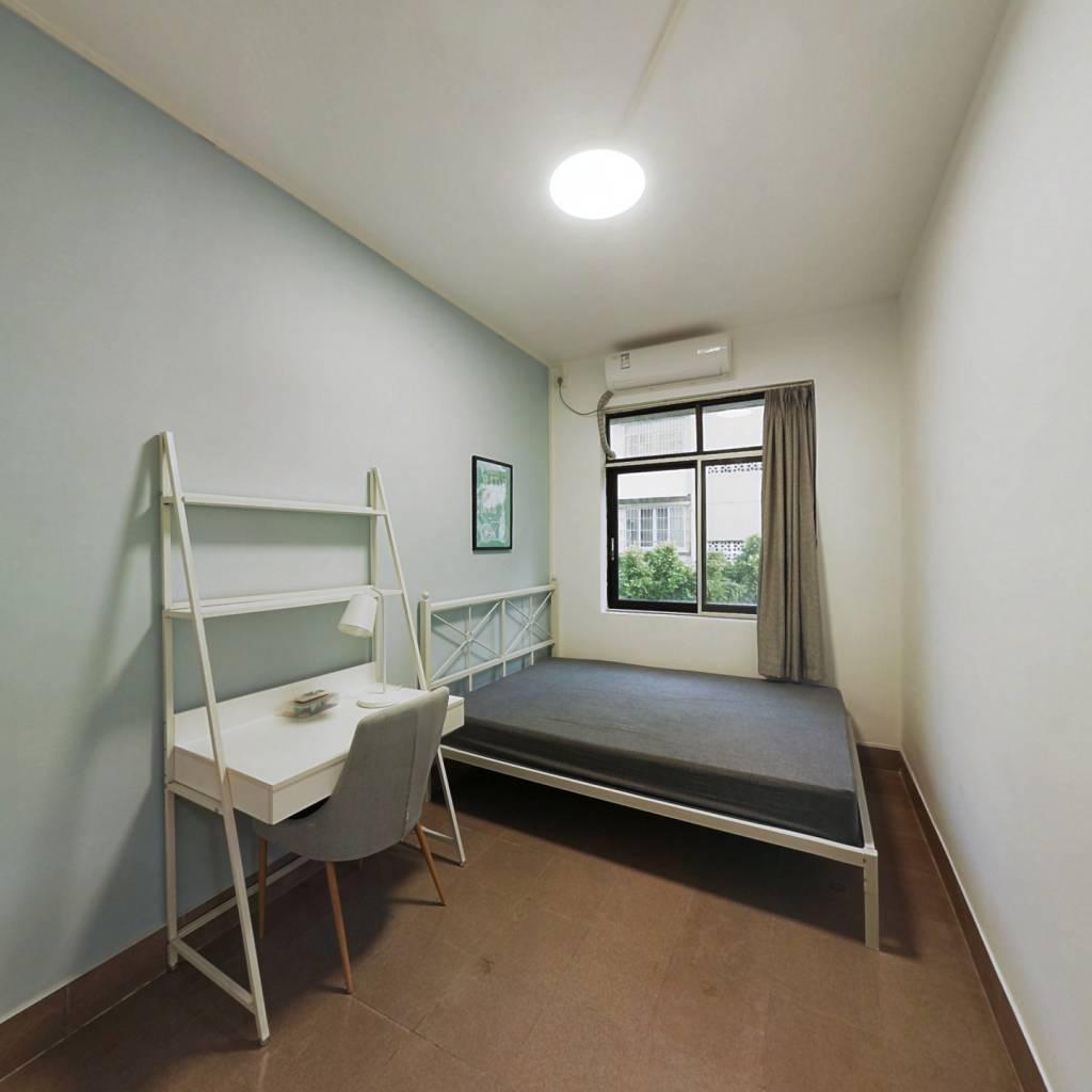 合租·建设六马路青菜岗 4室1厅 南卧室图