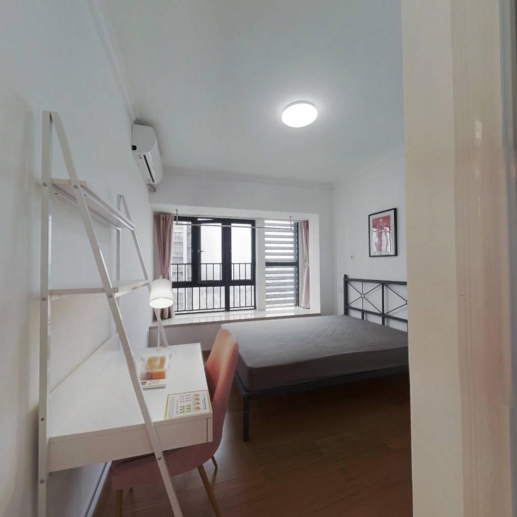 合租·金地龙城中央二期 4室1厅 东南卧室图