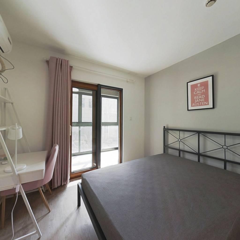 合租·南河东寓 3室1厅 南卧室图