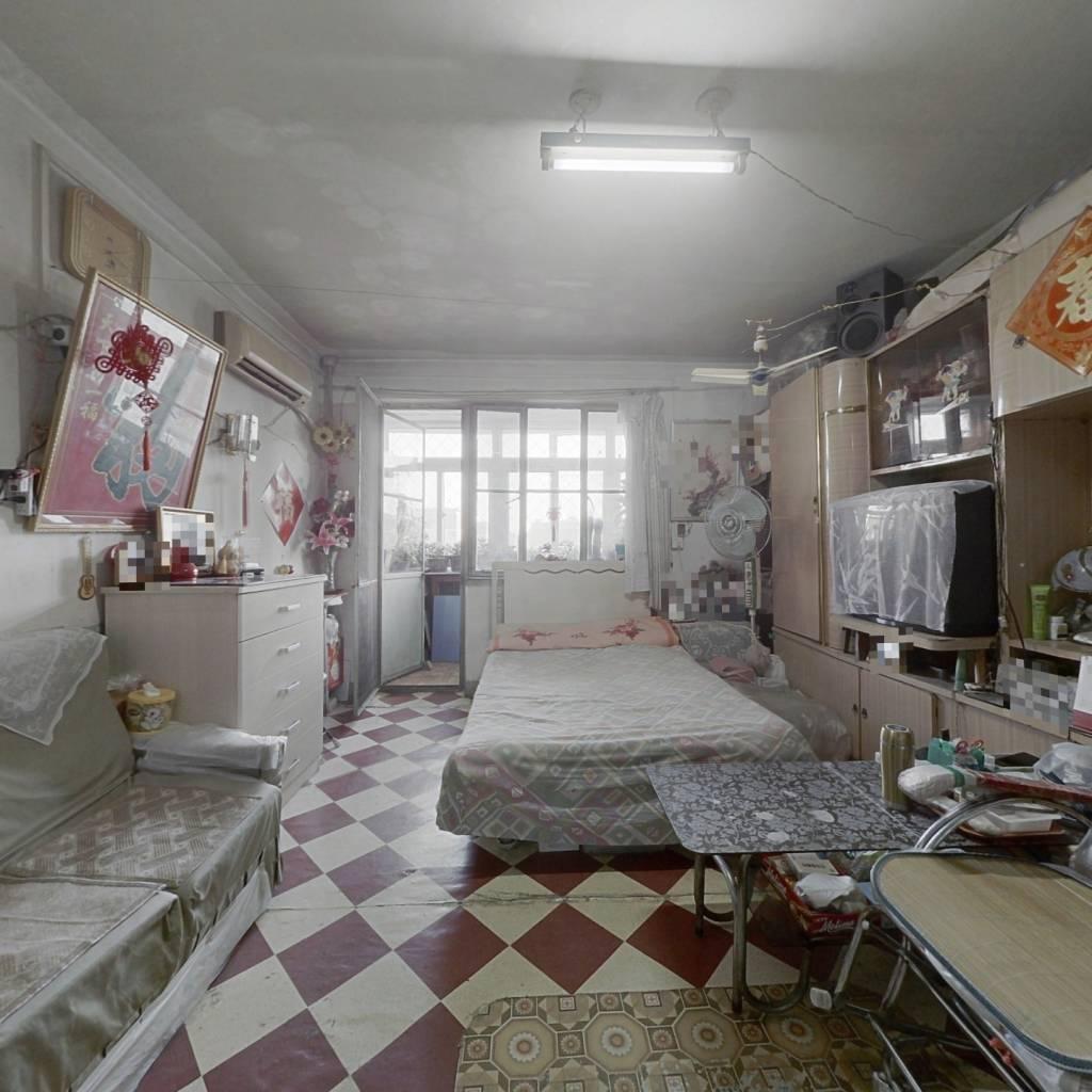 牡丹园南北通透经典两居室,满五年唯一