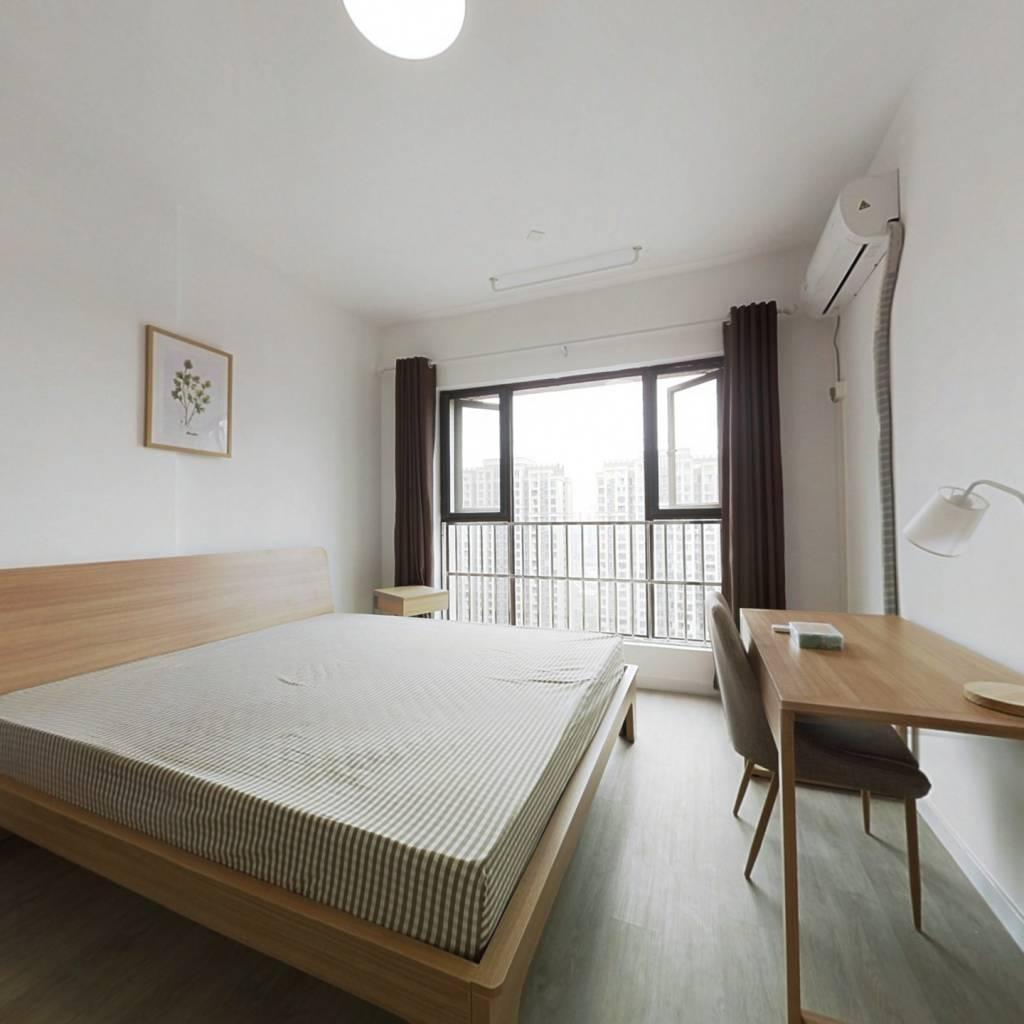 合租·成华奥园广场二期 4室1厅 北卧室图