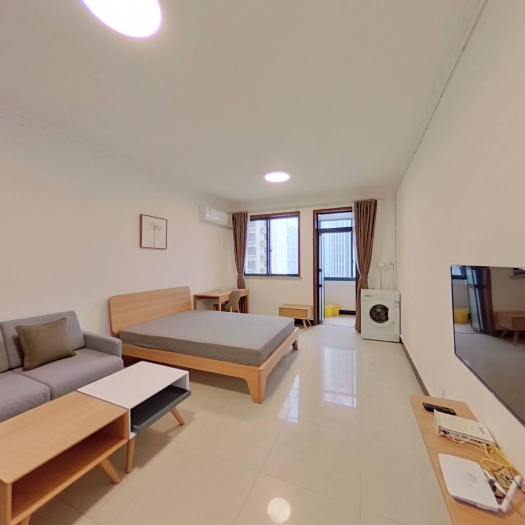 整租·新潮时代大厦 1室1厅 南卧室图