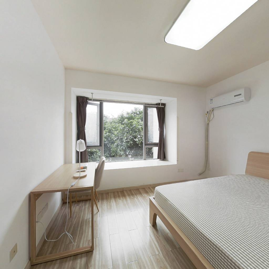 合租·中海兰庭 4室1厅 北卧室图