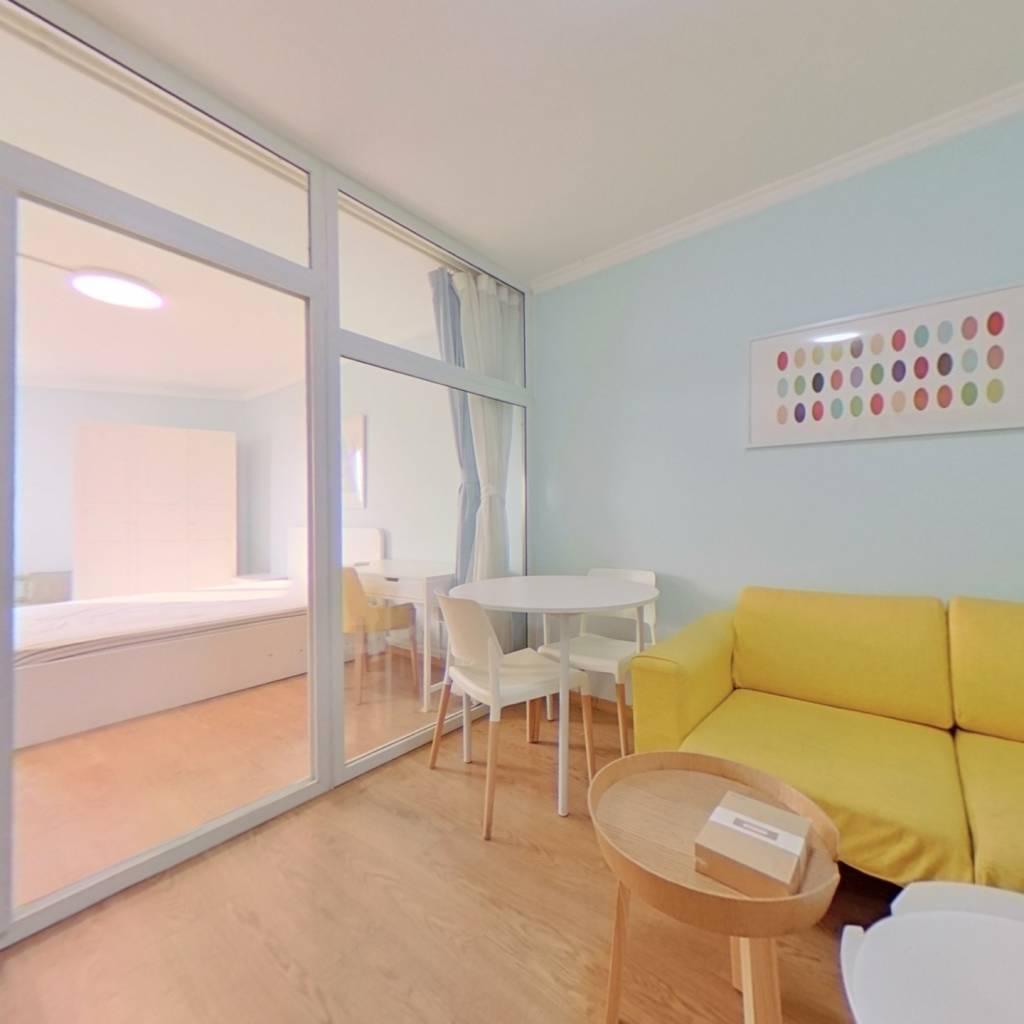 整租·翠林一里 2室1厅 西南卧室图