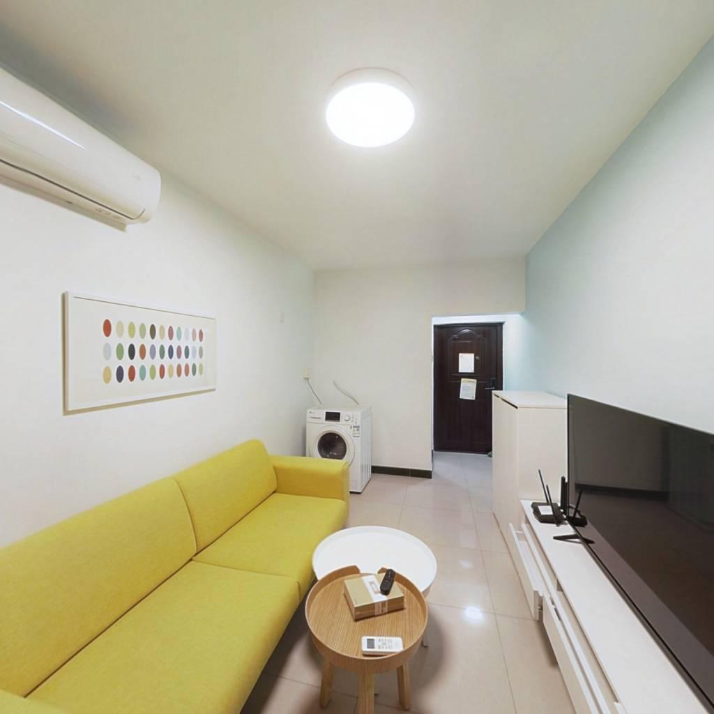 整租·苇子坑甲1号院 1室1厅 南卧室图