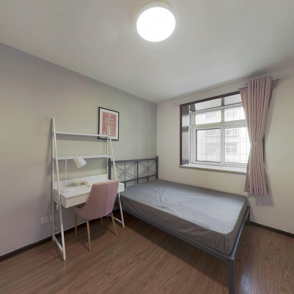 合租·紫瑞园 3室1厅 北卧室图