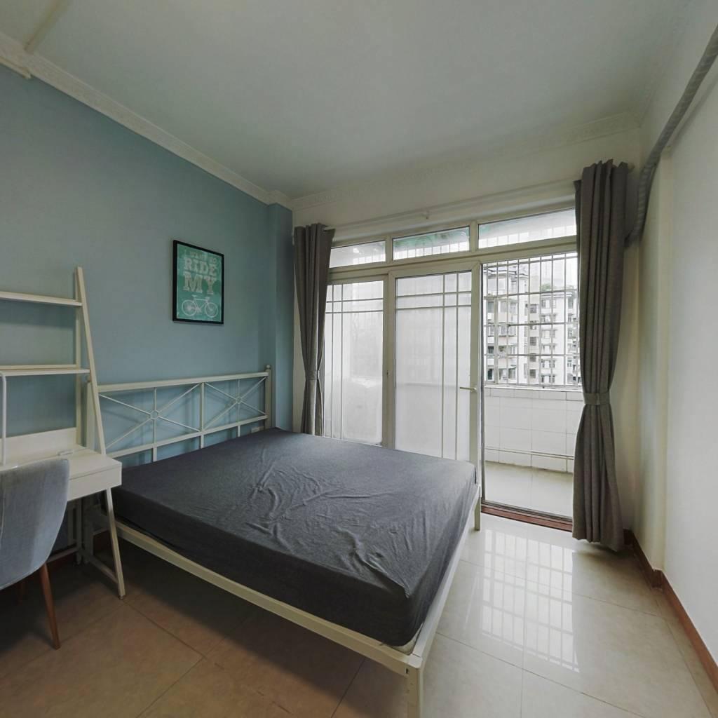 合租·六运小区 4室1厅 西南卧室图