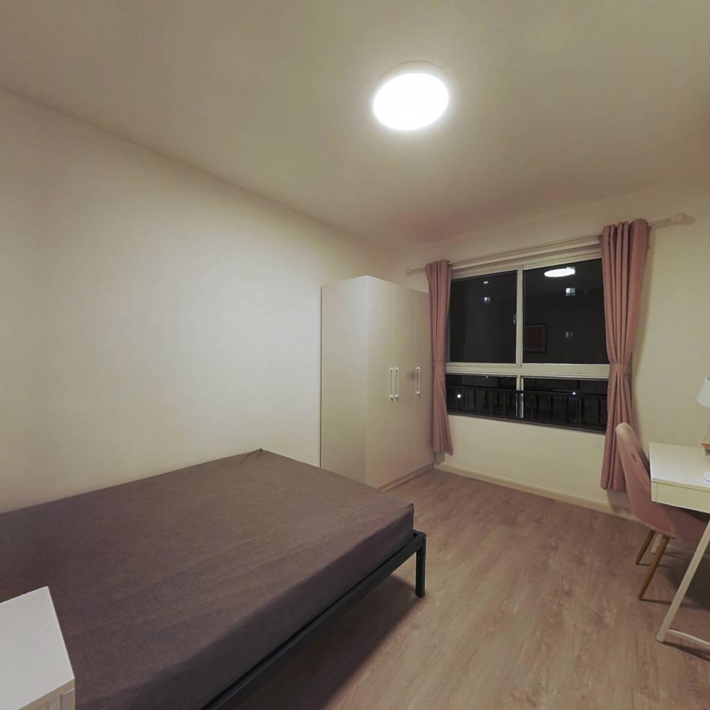 合租·星金家园 3室1厅 南卧室图