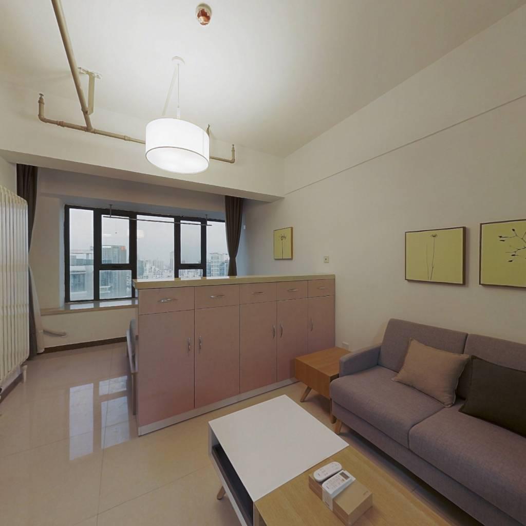 整租·城市之光月光园 1室1厅 南卧室图