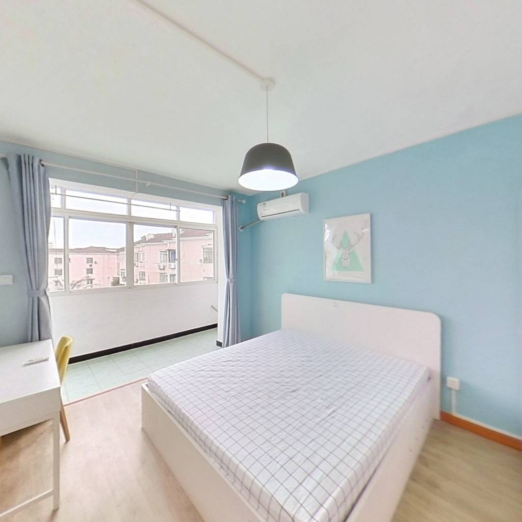 整租·氯碱小区 1室1厅 南卧室图