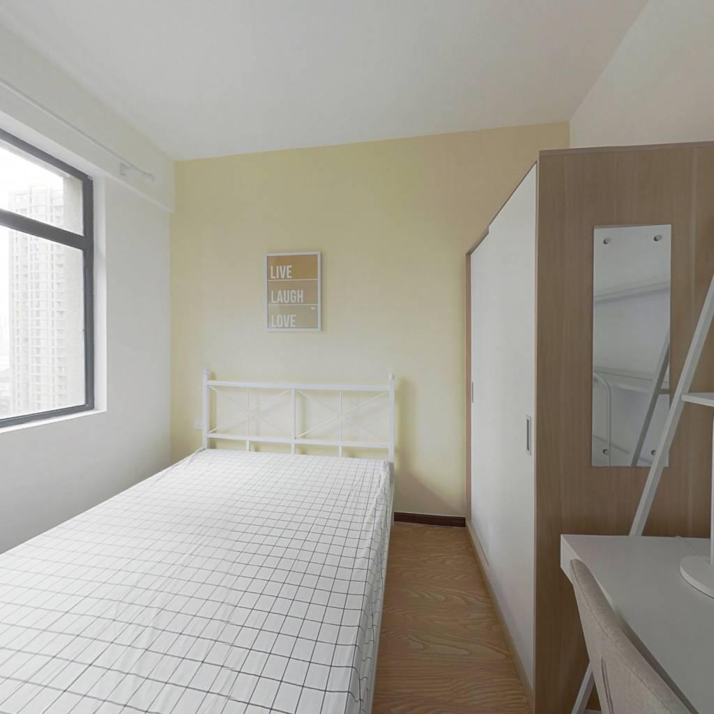 合租·福星城南区 3室1厅 东卧室图