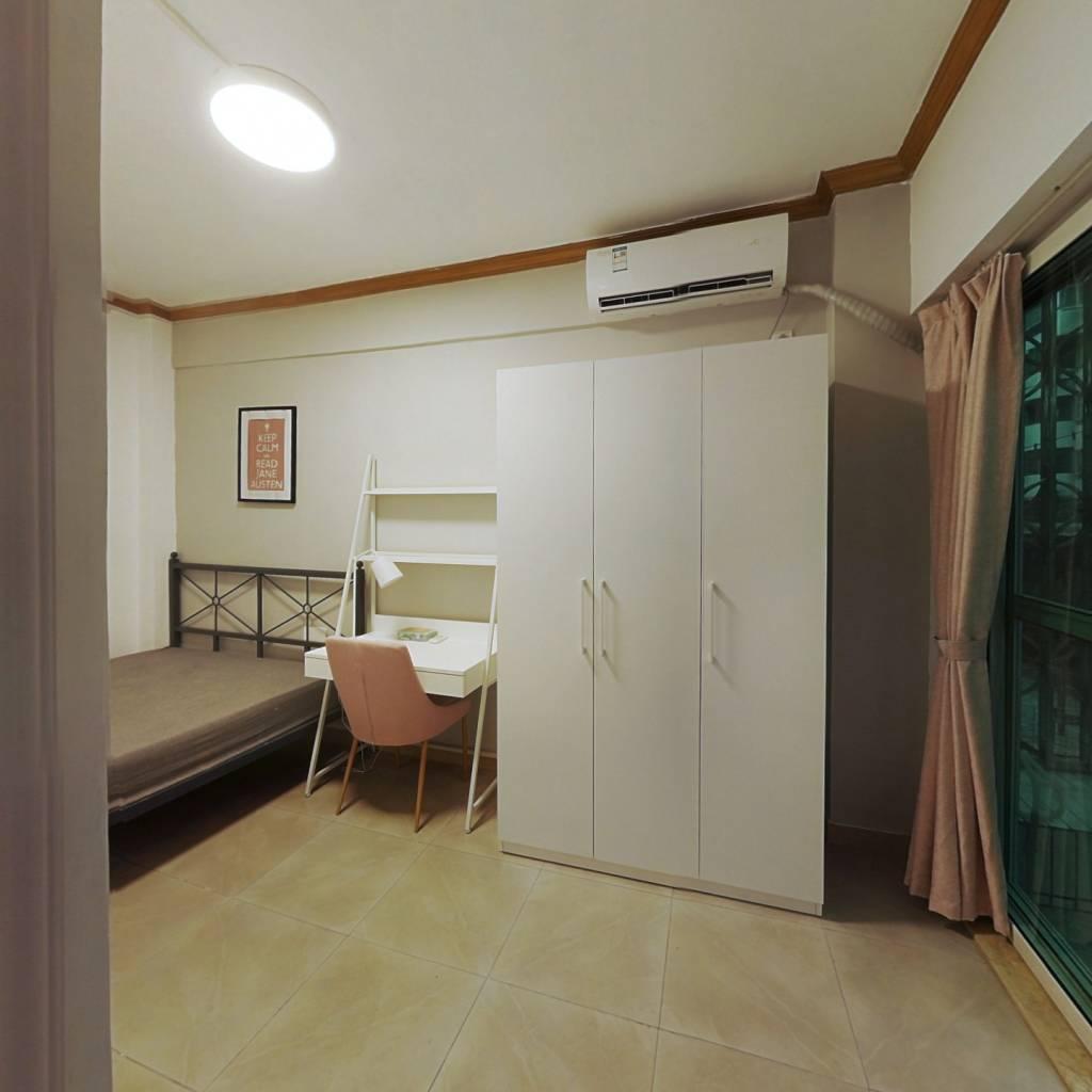 合租·东方明珠花园 3室1厅 西南卧室图
