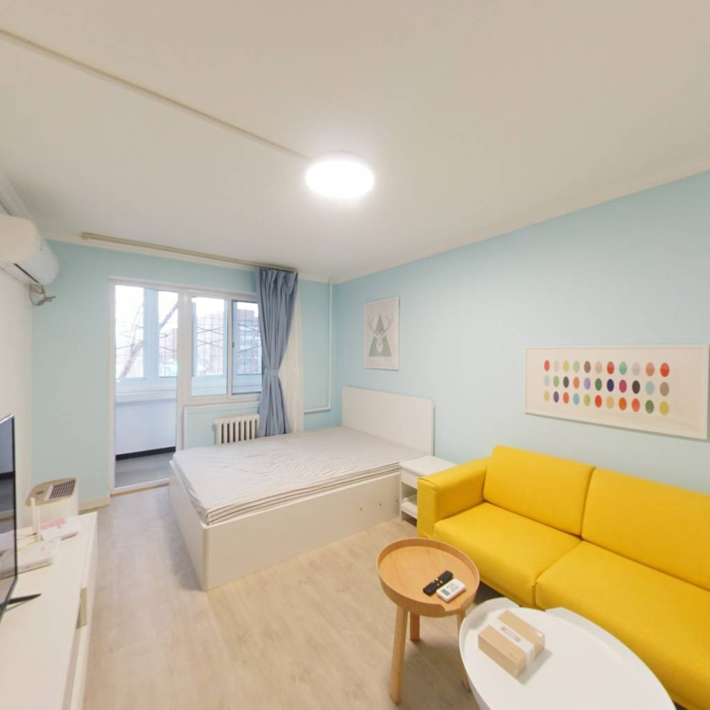 整租·中关村 1室1厅 西卧室图