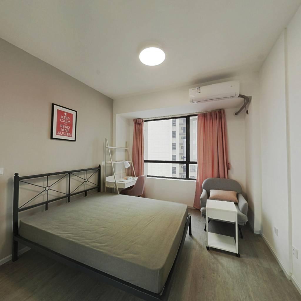 合租·鲁能公馆 4室1厅 南卧室图