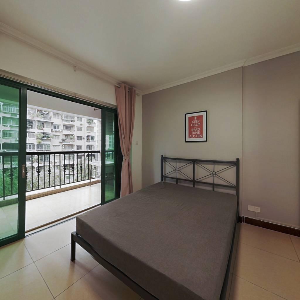 合租·金雅苑 4室1厅 北卧室图