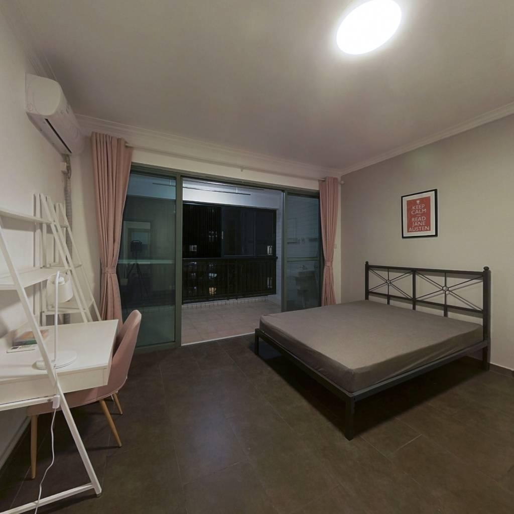 合租·华南新城 5室1厅 西北卧室图