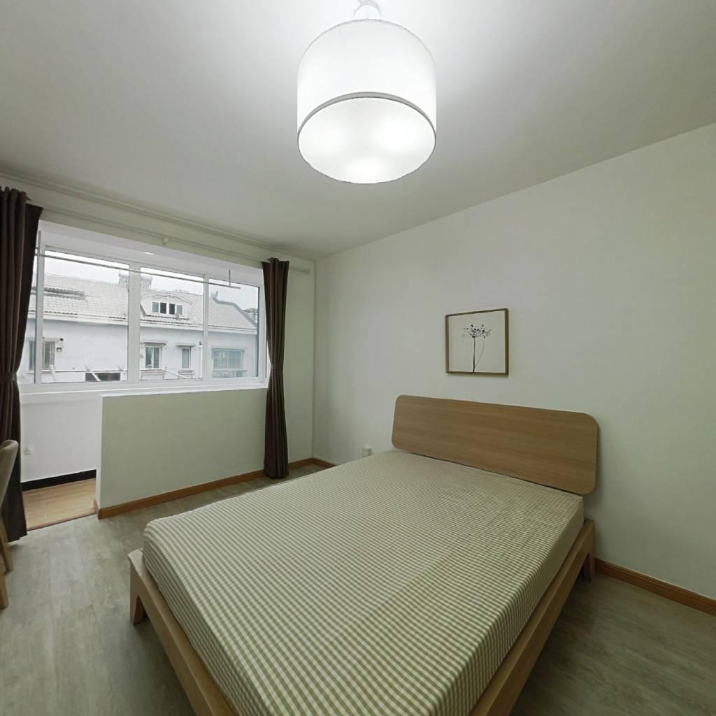 整租·真北二街坊 2室1厅 南卧室图