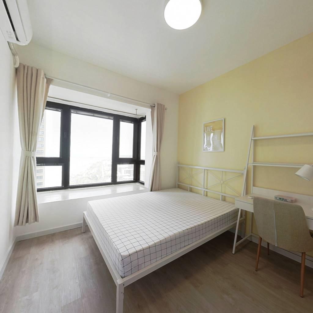 合租·深业滨江半岛 4室1厅 北卧室图