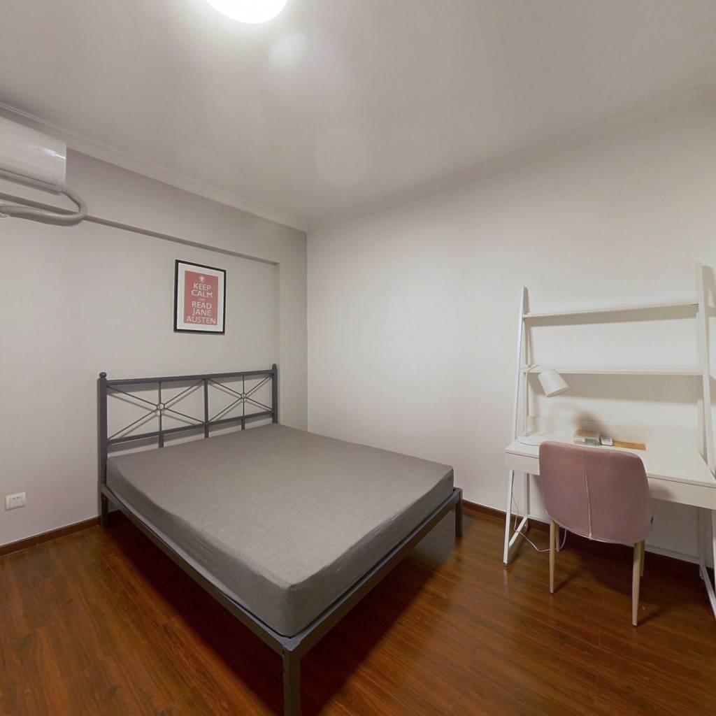 合租·广州雅居乐花园雅悦庭 4室1厅 西南卧室图