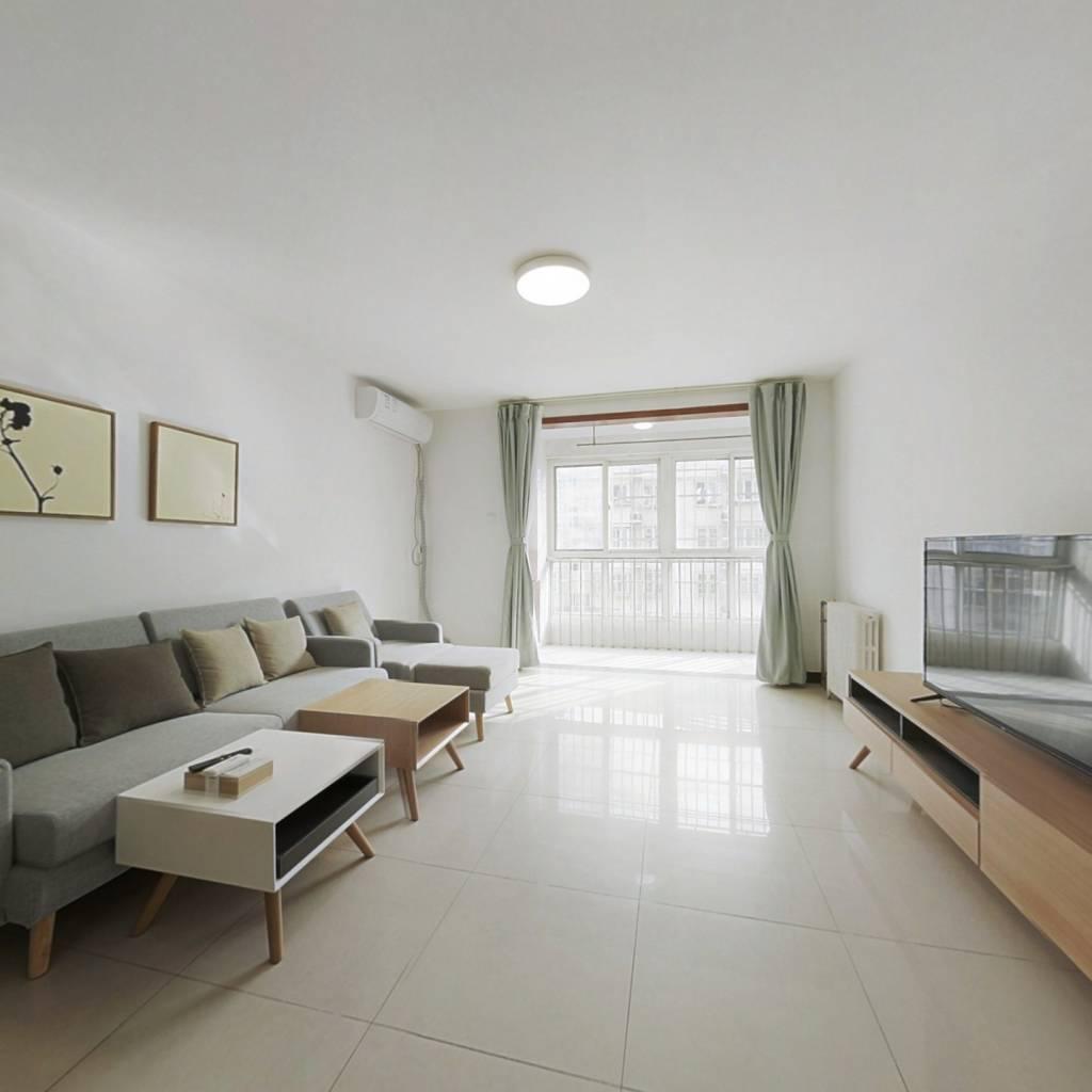 整租·富锦嘉园一区 2室1厅 南卧室图