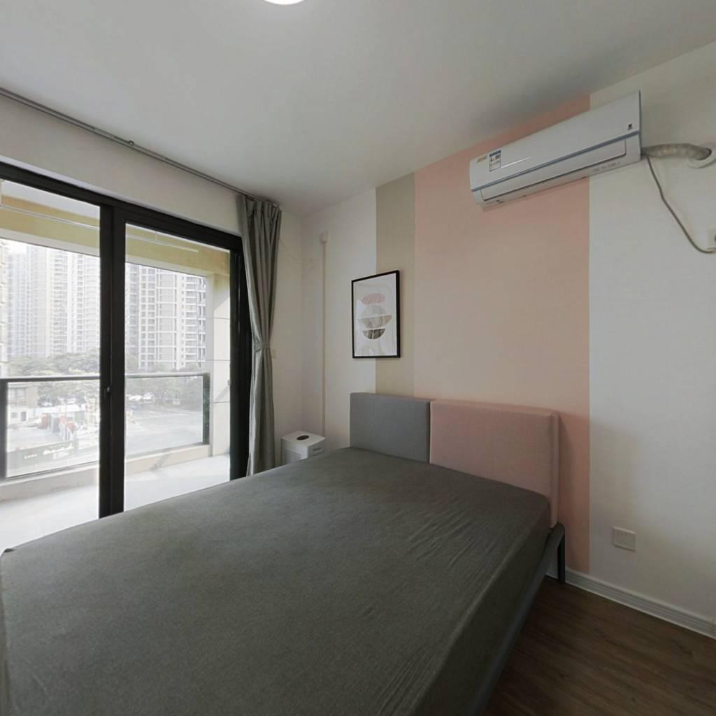 合租·三堡家园南区 3室1厅 西卧室图