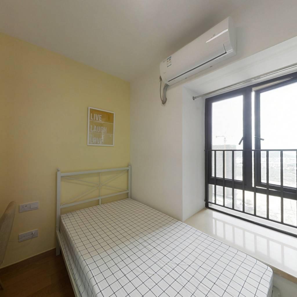 合租·亚运城天成 4室1厅 南卧室图