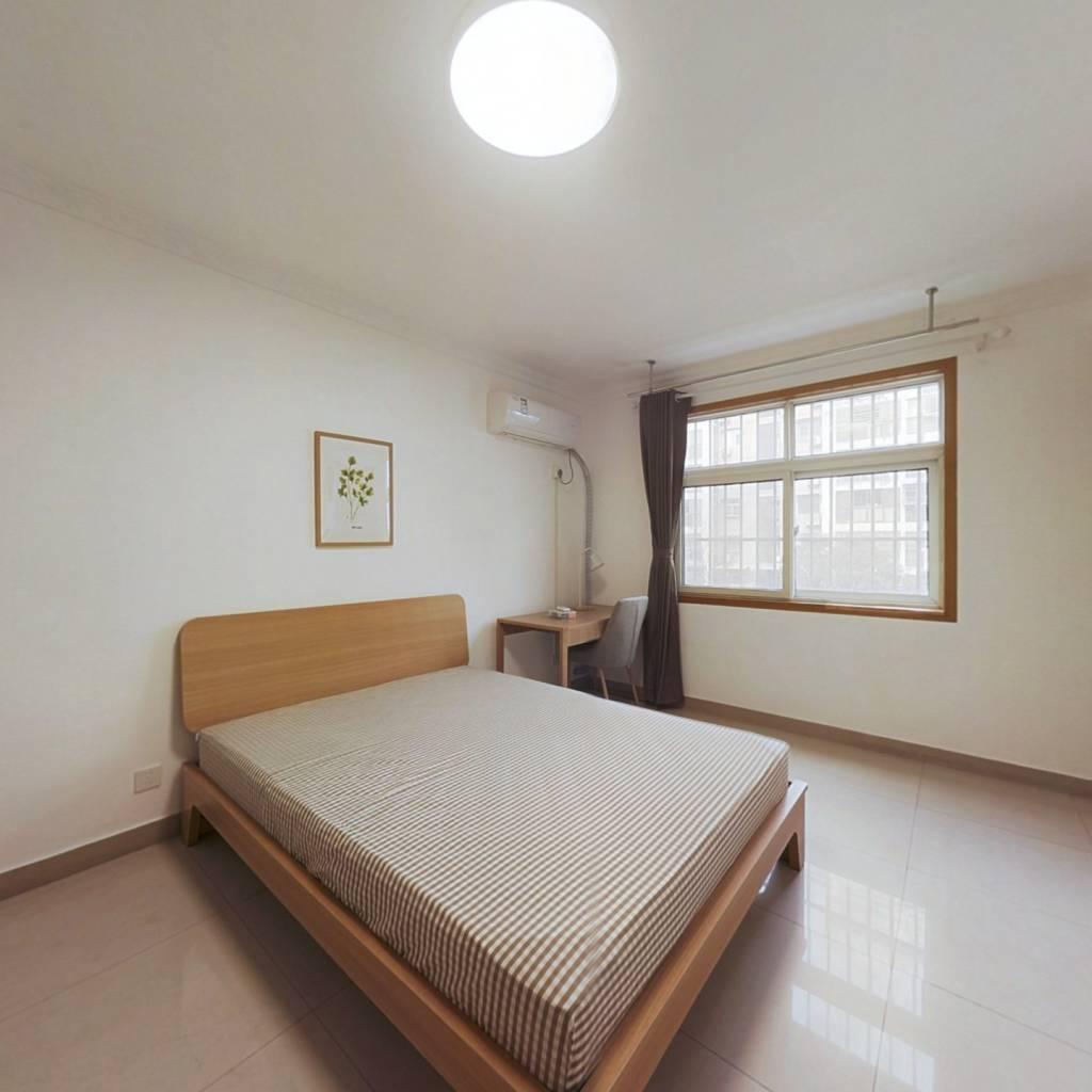 合租·江岸水城 3室1厅 南卧室图