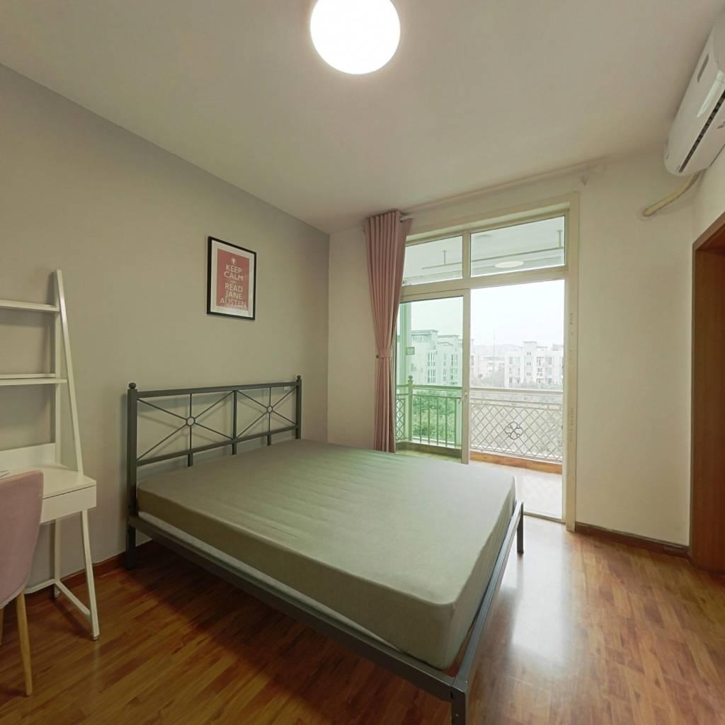 合租·紫荆馨苑 4室1厅 西卧室图