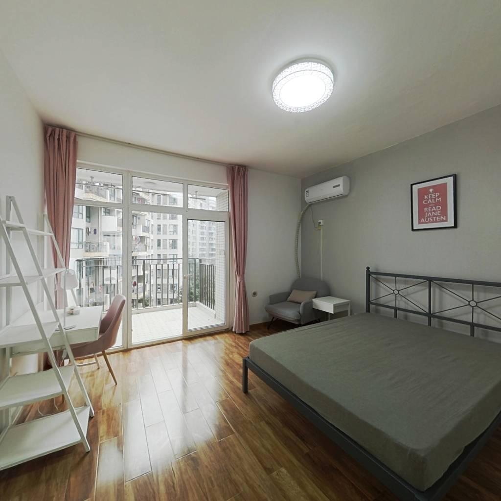 合租·蓝谷地三四期 4室1厅 西南卧室图