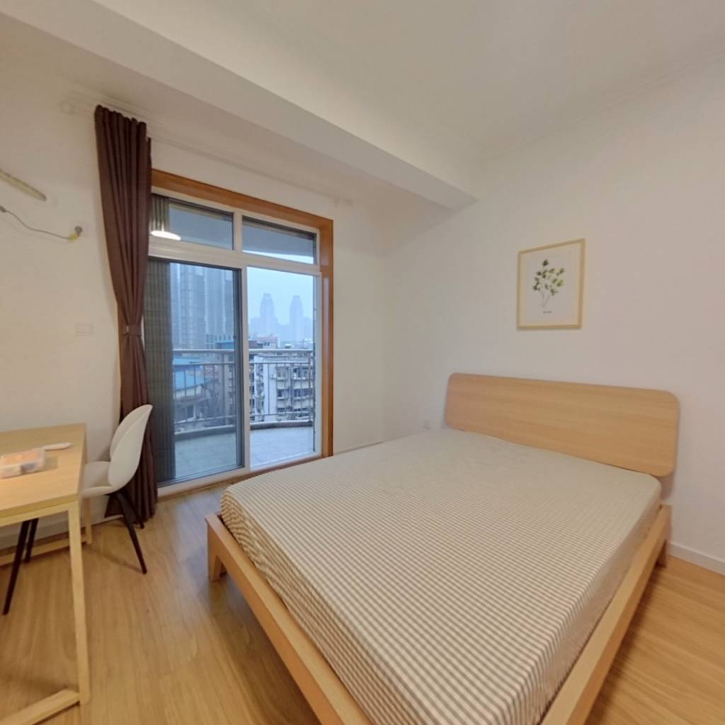 合租·东辉花园 4室1厅 北卧室图