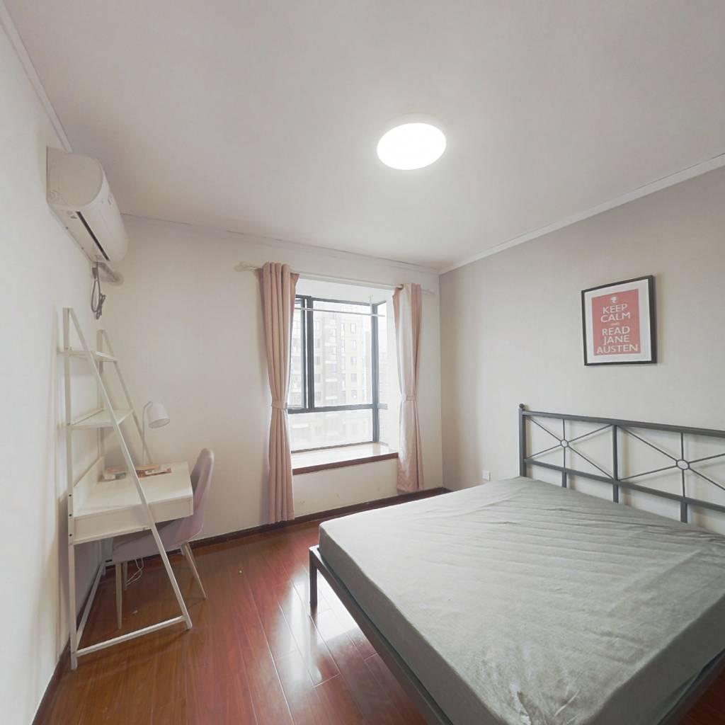 合租·合生江湾国际公寓 3室1厅 北卧室图