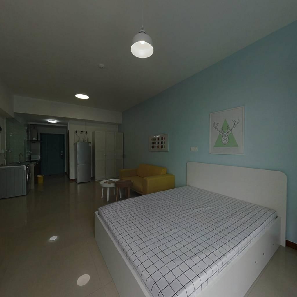 整租·新体育广场 1室1厅 南卧室图