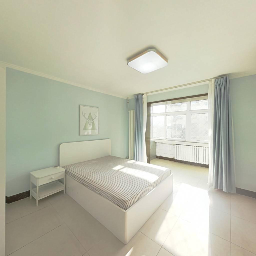 整租·西罗园一区 2室1厅 南北卧室图