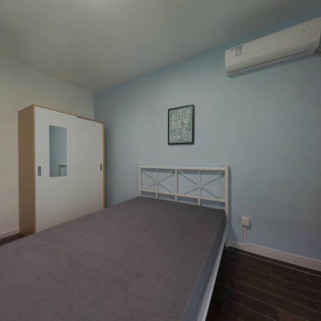 合租·城市印象 3室1厅 北卧室图