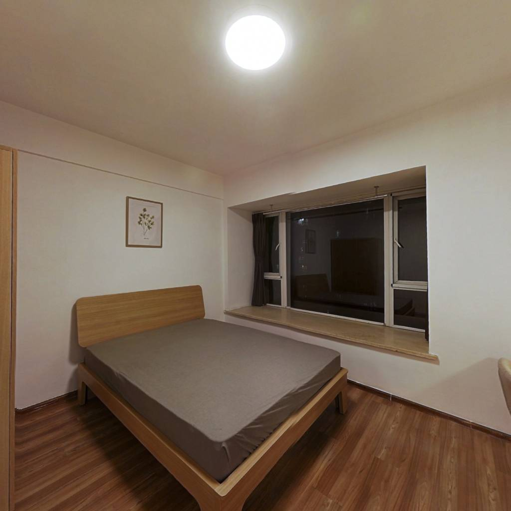 合租·中房蓝水湾 4室1厅 西卧室图