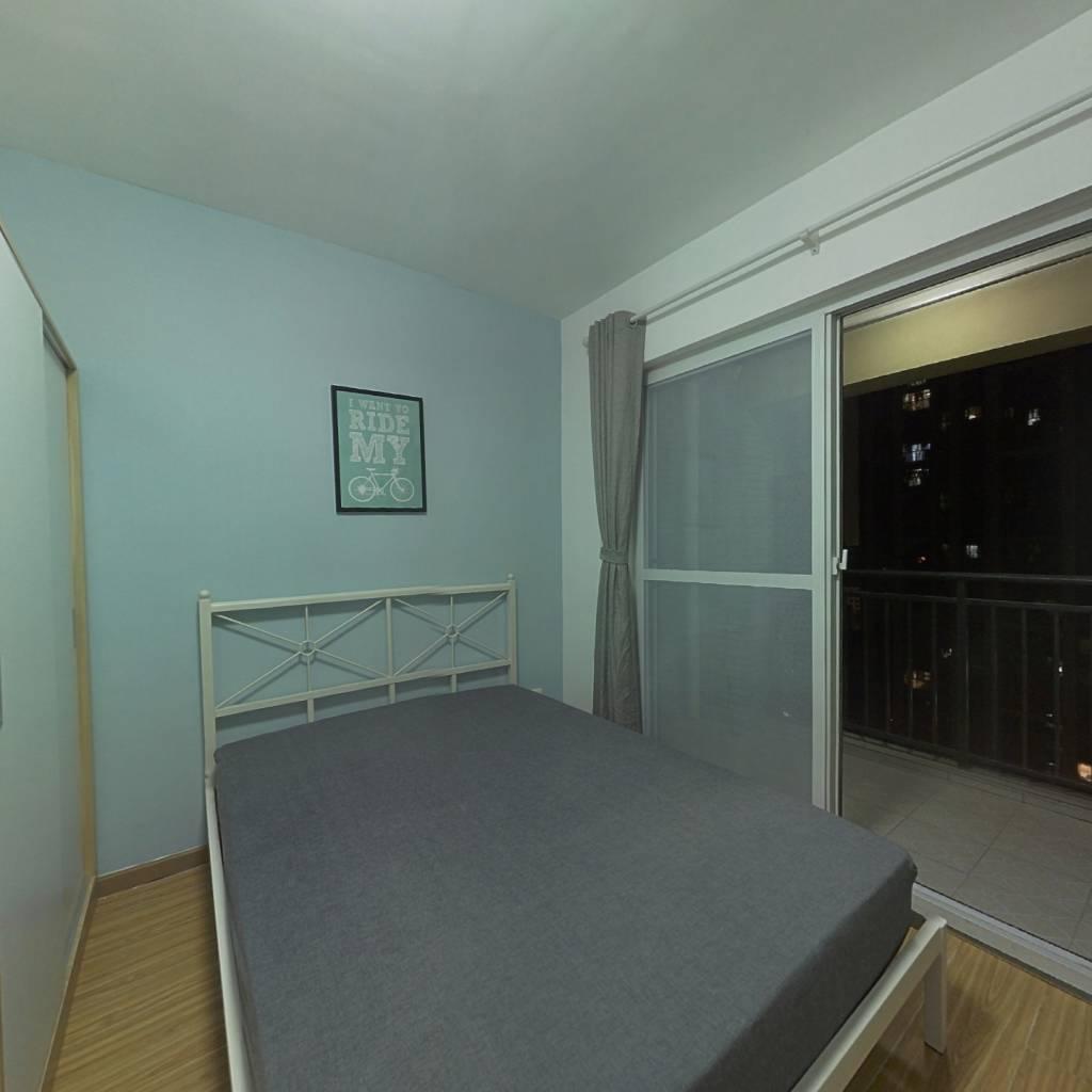 合租·保利中央公馆 4室1厅 南卧室图