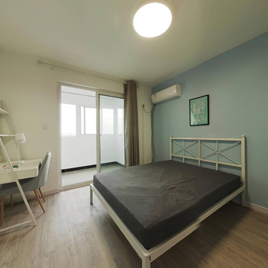 合租·美罗家园慧苑 3室1厅 南卧室图