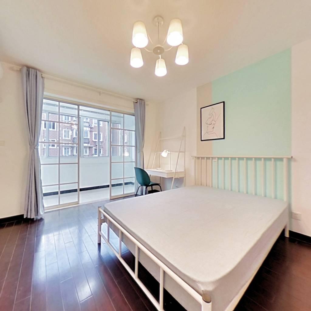 合租·共康公寓 3室1厅 北卧室图