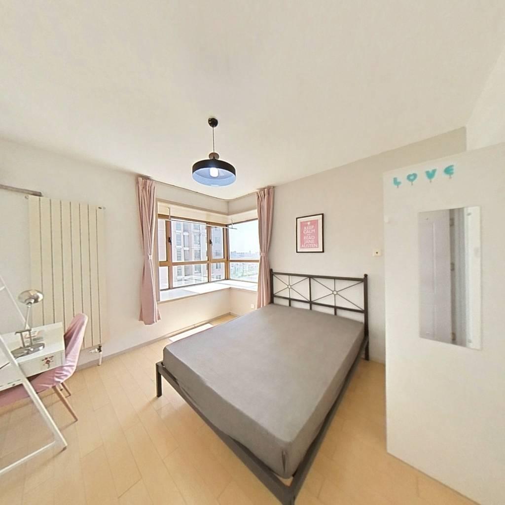 合租·晴川花园 3室1厅 西南卧室图