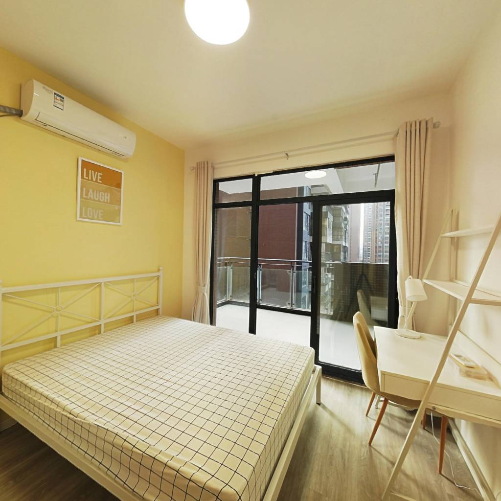 合租·紫东芯座 3室1厅 东南卧室图
