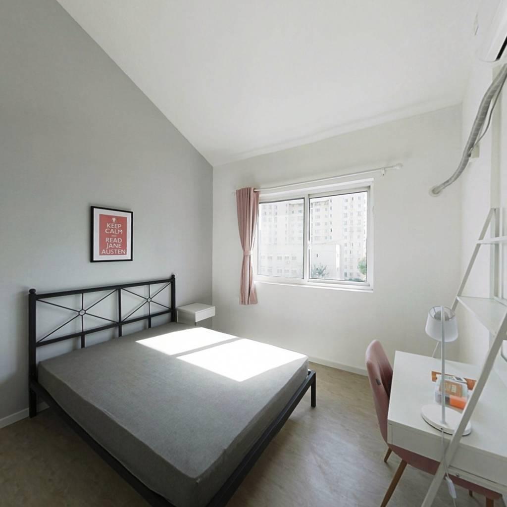 合租·安阁苑 3室1厅 南卧室图
