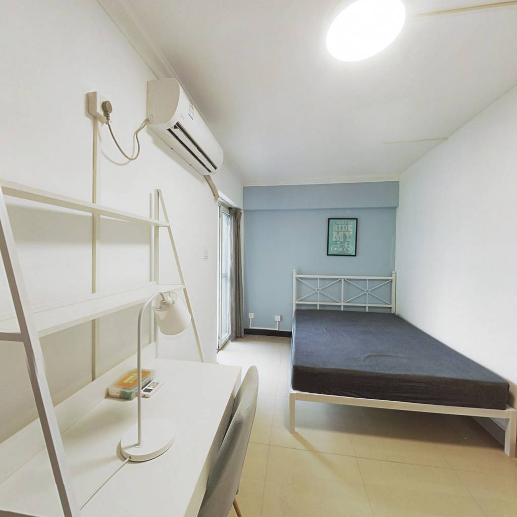 合租·珠江大家庭花园 4室1厅 北卧室图