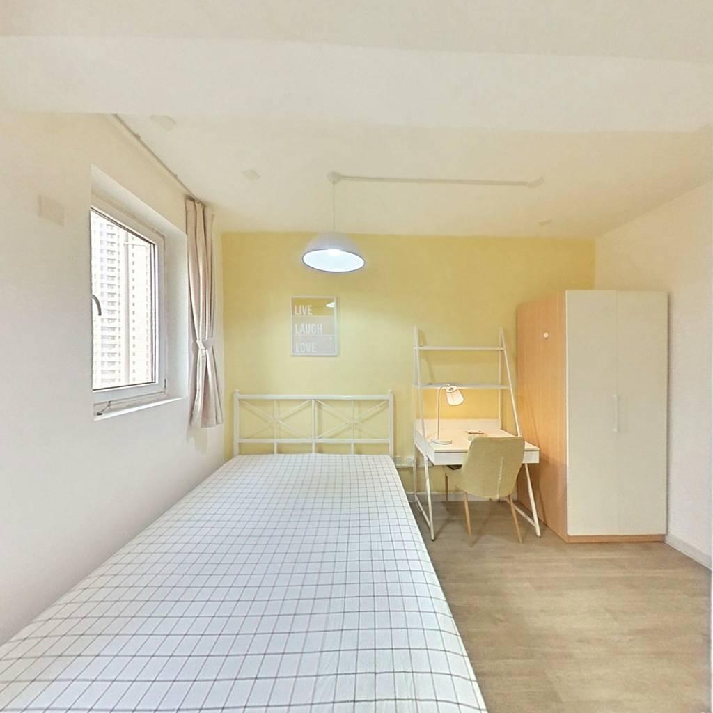 合租·惠众家园 3室1厅 北卧室图