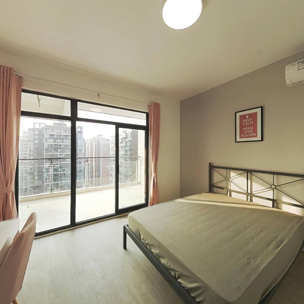 合租·紫东芯座 3室1厅 西卧室图