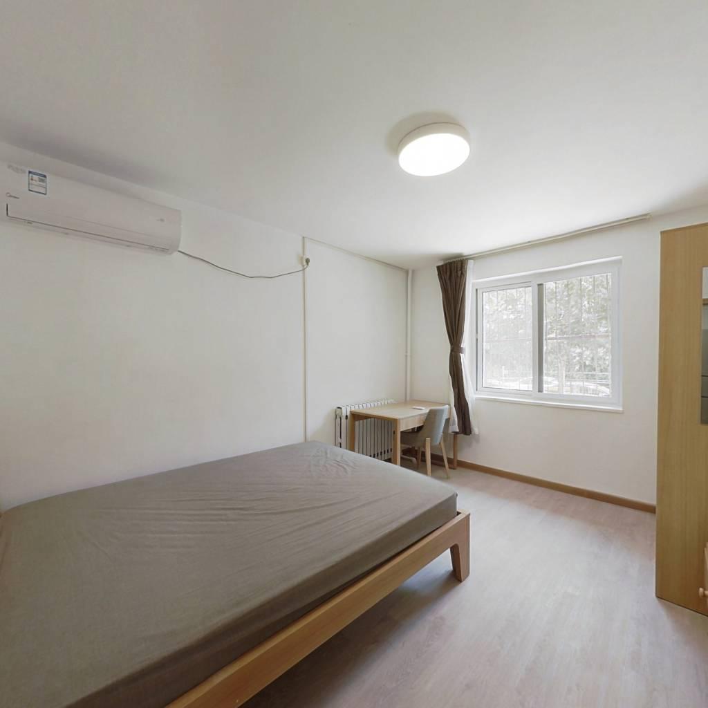 整租·西罗园南里 2室1厅 东南卧室图