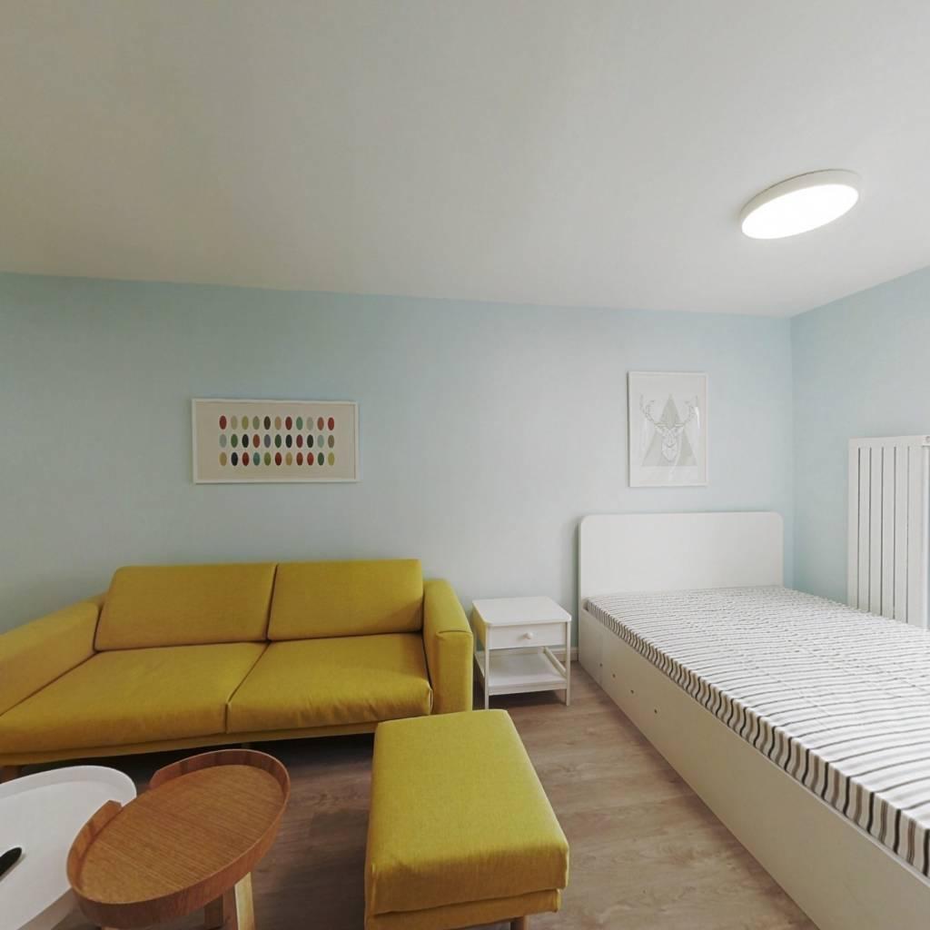 整租·gogo新世代 1室1厅 西卧室图