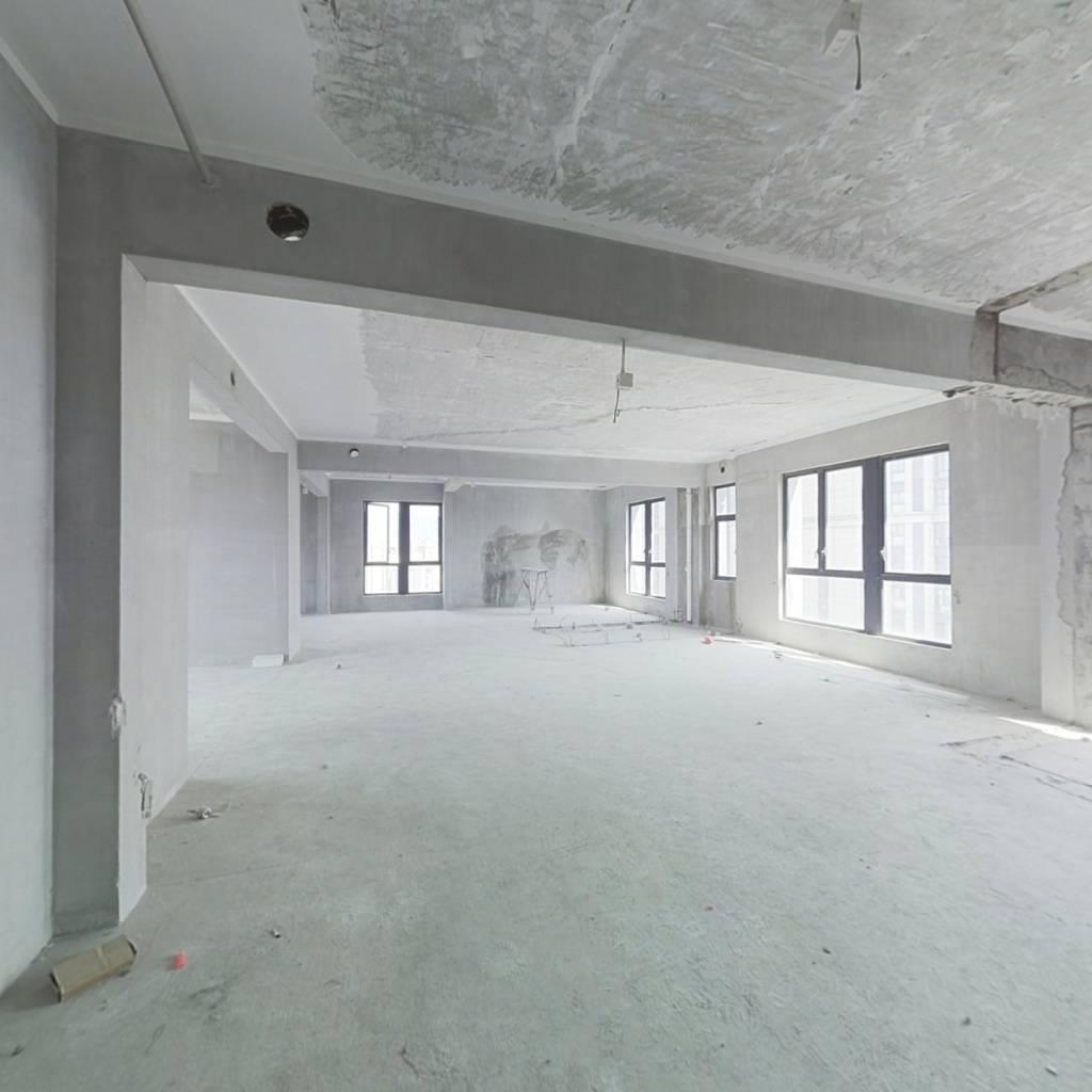 难得满两年,准4.5房,东南向纯毛坯,电梯直达入户